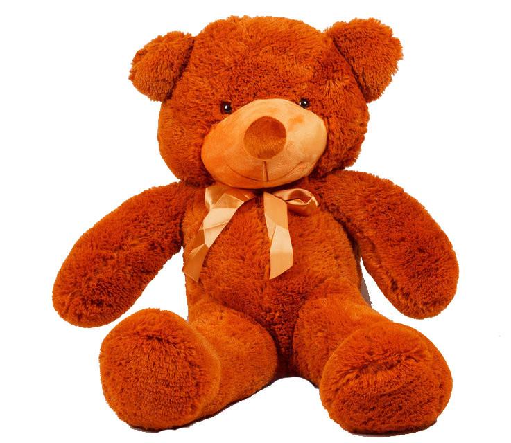 Мягкая игрушка медведь Украина 100 см Коричневый (196-19112837)