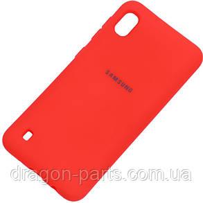 Чехол Silicone Case Full Protective для Samsung Galaxy A10 (A105F), фото 2