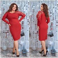 Сукня червона (48-54) арт. 0152