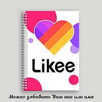 """Блокнот А5 """"Likee"""" №2"""
