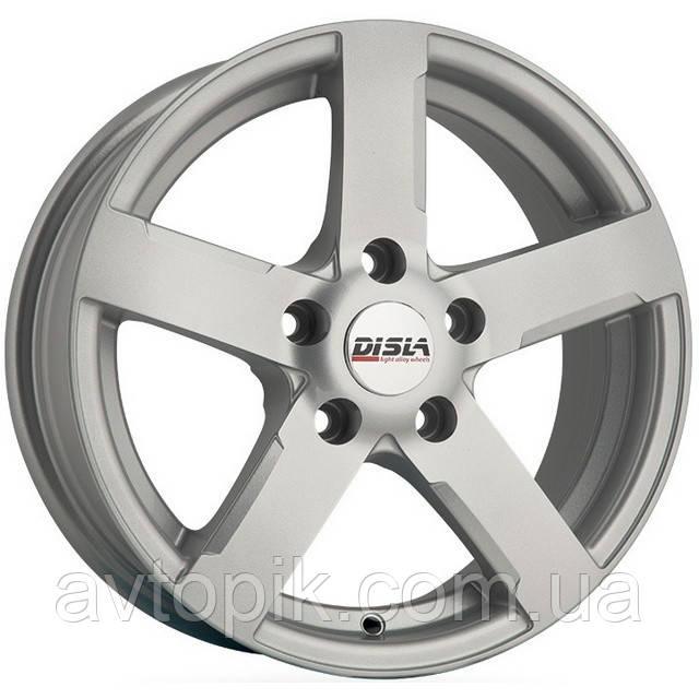 Литые диски Disla Scorpio R17 W7.5 PCD5x114.3 ET35 DIA67.1 (silver)
