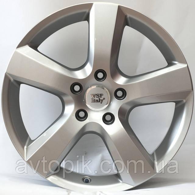 Литі диски WSP Italy Volkswagen (W451) Dhaka R20 W9 PCD5x120 ET60 DIA65.1 (silver)