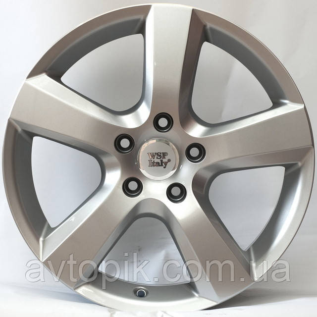 Литые диски WSP Italy Volkswagen (W451) Dhaka R20 W9 PCD5x120 ET60 DIA65.1 (silver)