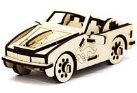 Механический деревянный 3D пазл SUNROZ Автомобиль Кабриолет BMW 40 элементов (SUN1745)