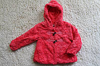 Меховое пальтишко для девочек ( подкладка мех- травка ) 4- 12 лет
