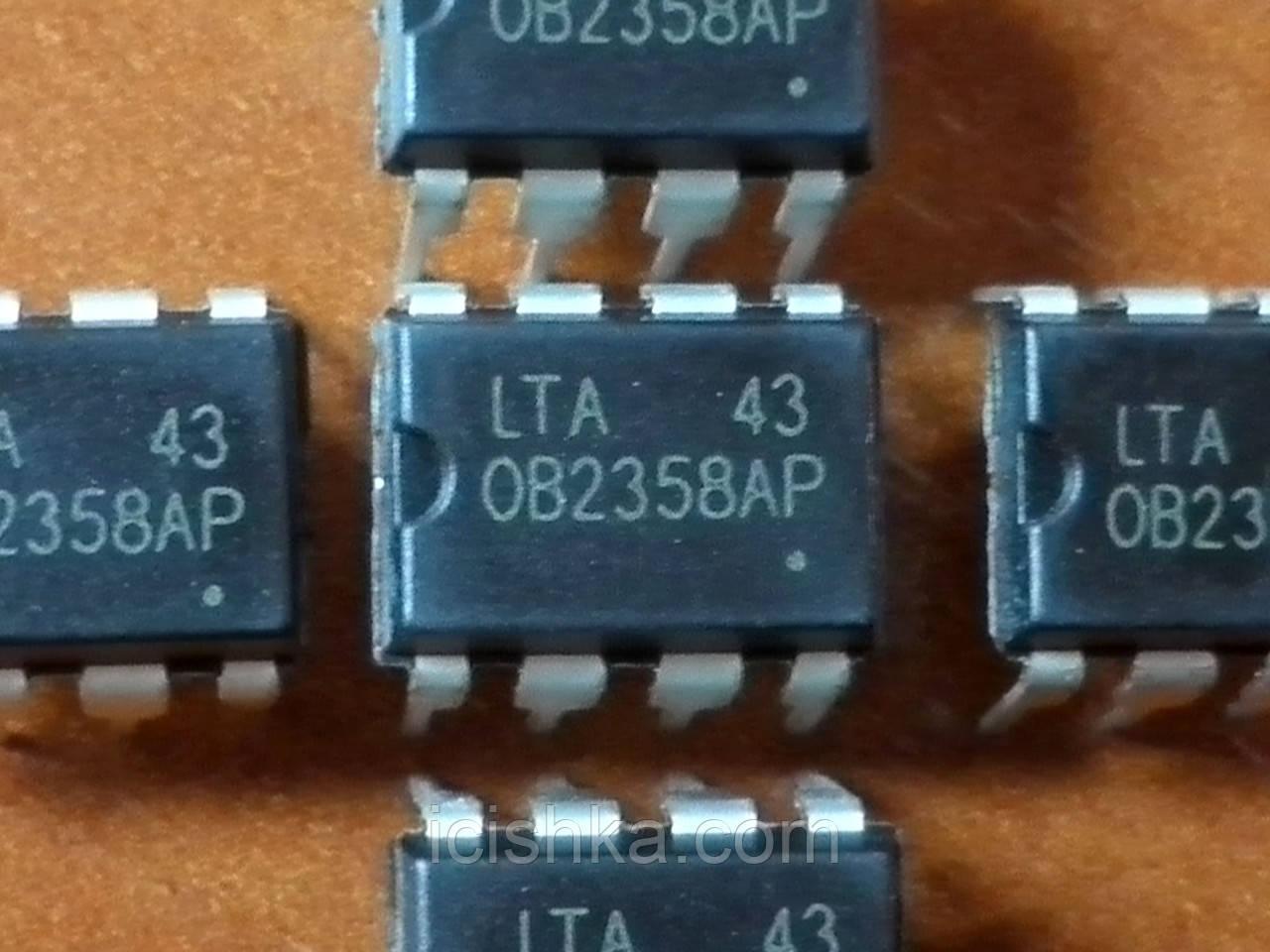 OB2358AP DIP8 - ШИМ контроллер для ИБП