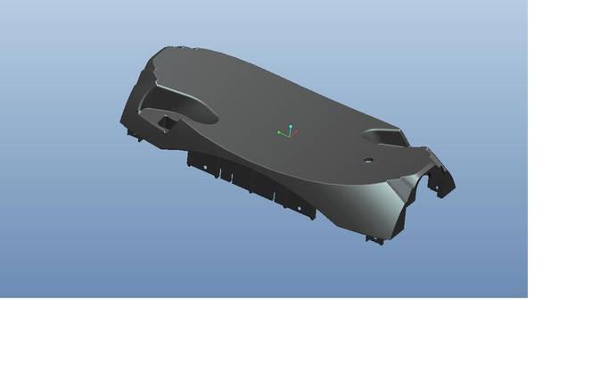 Верхня кришка KS-18L; KS-18XL. Чорна матова., фото 2