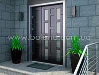 Двері вхідні металопластикові