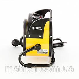 Тепловая пушка, керамический нагреватель (тепловентилятор) DHC 2-100, 220 В, 0,025/1/2 кВт Denzel