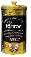 Подарочный чай Тарлтон Золотой бархат черный с цедрой апельсина 150 г в жестяной банке