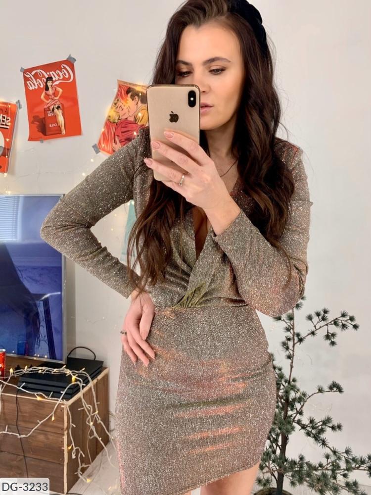 Платье женское вечернее с блестками стильное размеры 42 44 новинка 2019 много цветов