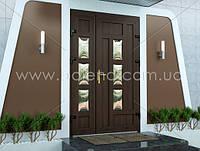 Двері металопластикові вхідні