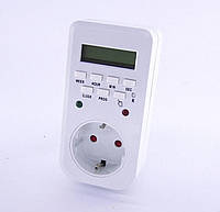 Таймер цифровой в розетку недельный Lemanso LM 6346 (LM680)
