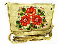 Маленькая сумочка  маки, фото 1