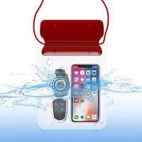 Водонепроницаемая сумка Waterproof для смартфона и документов, фото 1