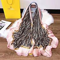 Шелковый платок палантин 2 цвета, фото 1
