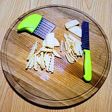 Комплект из 2-х ножей для волнистой нарезки