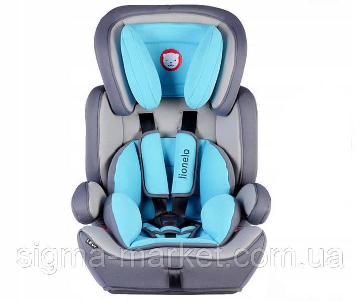 Автокресло-бустер Lionelo Levi Plus (9-36 кг) baby/blue