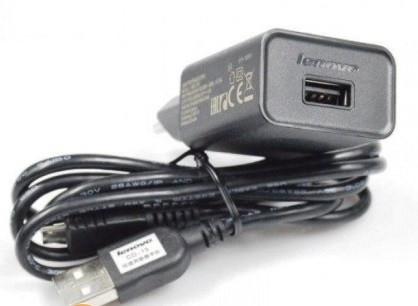 Сетевое зарядное устройство зарядка Lenovo (A) 2 в 1 Micro USB оригинал для Lenovo A858T