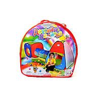 Детская игровая палатка М2958 с тоннелем (003818)