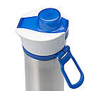 Термобутылка из нержавеющей стали Aladdin Active Hydration (0.6л), синяя, фото 5
