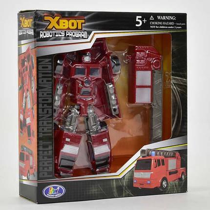 Трансформер X-Bot Пожарная машина Красный (2-82070-63164), фото 2
