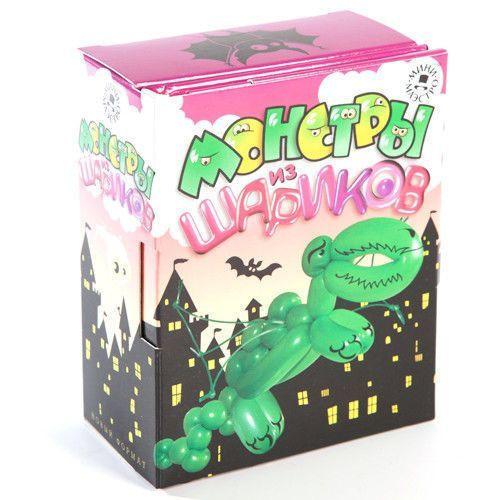 Детский игровой набор Kronos Toys Монстры из шариков (tps_200-19817494)