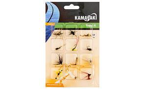 Набір мушок Energofish Kamasaki Fly Set 12шт (84309020)