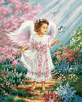 Картина по номерам 40х50см Babylon Turbo Ангел в саду