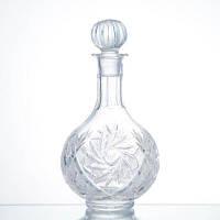 Графин для вина хрустальный Неман 4184/1000/1 мельница (1л)