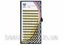 Ресницы для наращивания пучковые микс Lovely 6D - 16 линий