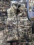 Жилетки маскировочные на флисе, 46 р и др., на молнии, осень - зима, на молнии, фото 4