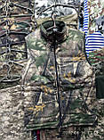 Жилетки маскировочные на флисе, 46 р и др., на молнии, осень - зима, на молнии, фото 5