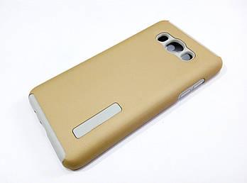 Чехол противоударный Dual Pro для Samsung Galaxy J5 J510 (2016) поликарбонат золотой