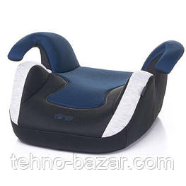Автокресло бустер  4BABY DINO Blue вес ребенка 15-36 кг