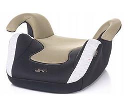 Автокресло бустер  4BABY DINO Beige  вес ребенка 15-36 кг