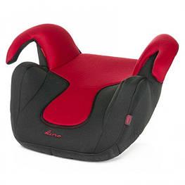 Автокресло бустер  4BABY DINO Red вес ребенка 15-36 кг