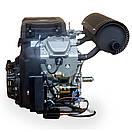 Бензиновый двухцилинровый двигатель LIFAN 2V78F-2A 24 л.с, фото 6