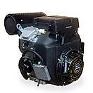 Бензиновий двоцилінровий двигун LIFAN 2V78F-2A 24 к. с, фото 3