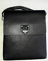 Мужская сумка 1346-2 Black сумки мужские купить недорого