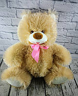 Мягкая игрушка Медведь Топтышка сидячий с бантиком Чайка Украина