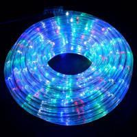 Гірлянда дюралайт світлодіодна стрічка круглий шланг 7192, Rgb, 20м з контролером на 220в (Мікс)