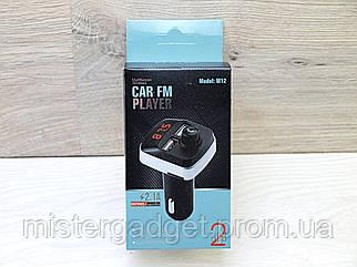 FM модулятор Bluetooth M12