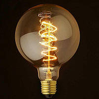 Лампа Эдисона LOFT G95 шар E27 40W VITO лофт