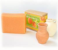 Новогодний подарок мыло ЦВЕТОК АПЕЛЬСИНА натуральное органическое ручная работа