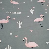 Фланель (байка) Фламинго 220 см