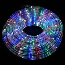 Гирлянда дюралайт | светодиодная лента | круглый шланг 7192, Rgb, 20м с контролером на 220в (Микс), фото 2