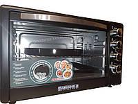 Електропіч з конвекцією 50 літрів +дека для піци GRUNHELM GN 50AC