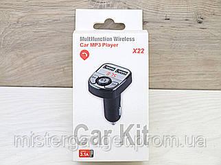 FM трансмітер Bluetooth M22