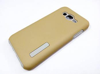 Чехол противоударный Dual Pro для Samsung Galaxy J7 J700 (2015) / J7 Neo j701 поликарбонат золотой